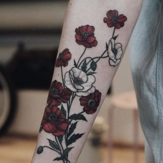 30+ Beautiful Flower Tattoo Designs