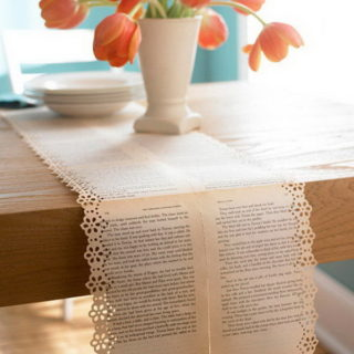 30+ Great Upcycling Ideas for Vintage Old Book Pages