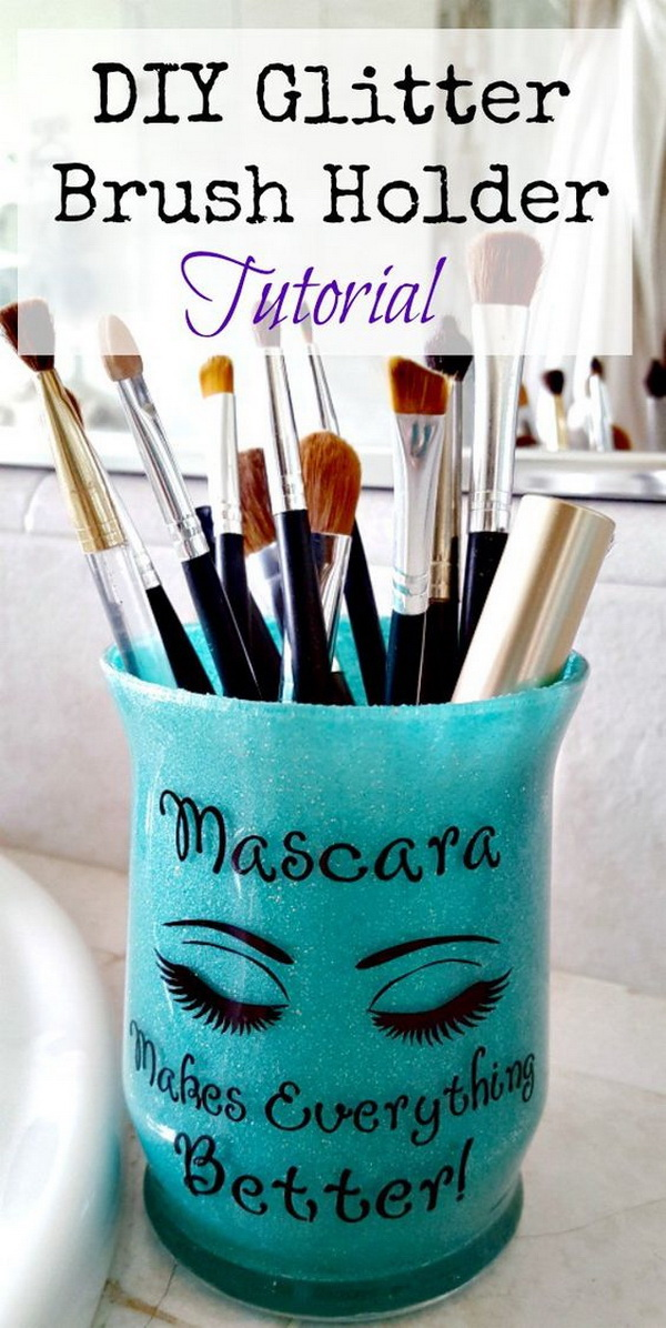 18 Amazing Diy Makeup Storage Ideas And Hacks Listing More