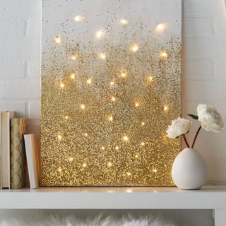 20+ Sparkly DIY Glitter Project Ideas