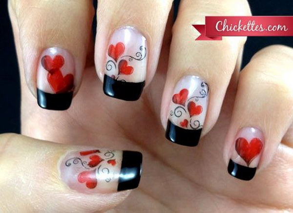 70 Romantic Valentines Day Nail Art Ideas Listing More
