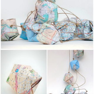 DIY Ways to Craft with Old Maps
