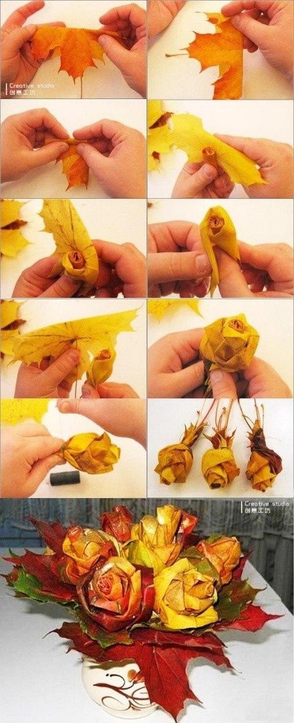 Как сделать из листочка