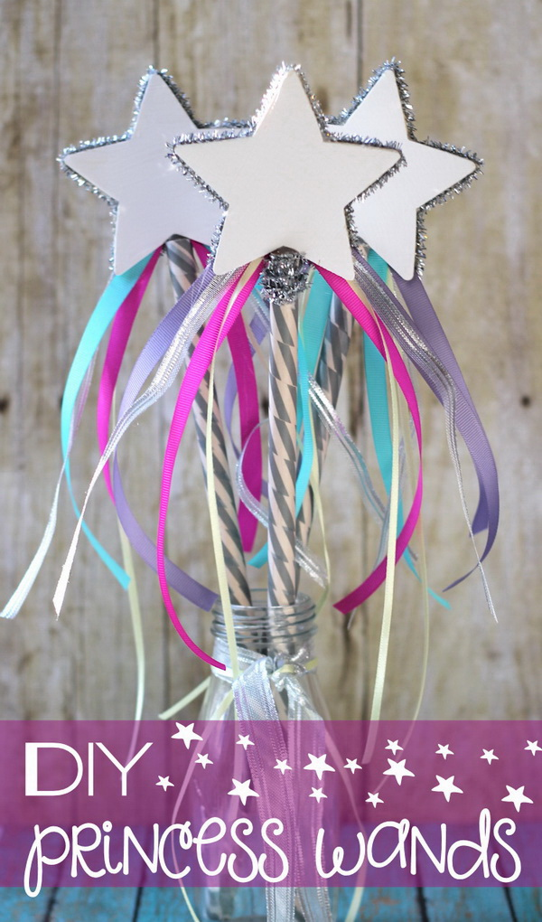 Pretty Princess Crafts And Decoration Ideas For Your Little Girl